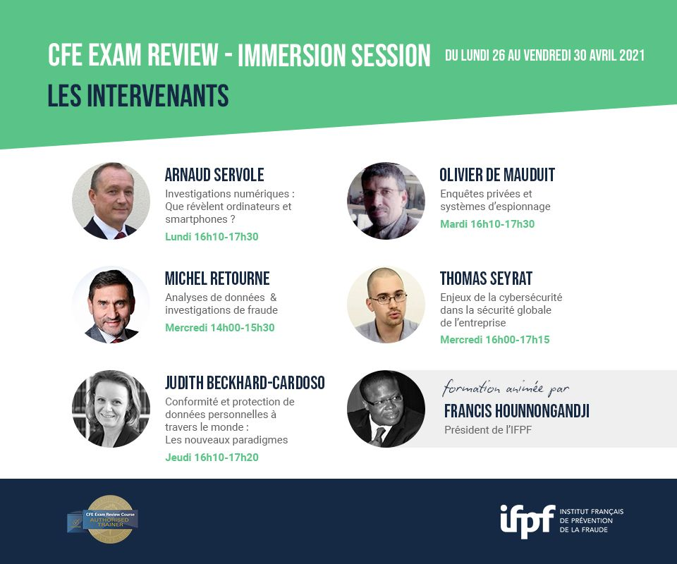 Programme de formation CFE Exam Review - Immersion Session (26/04 au 30/04)